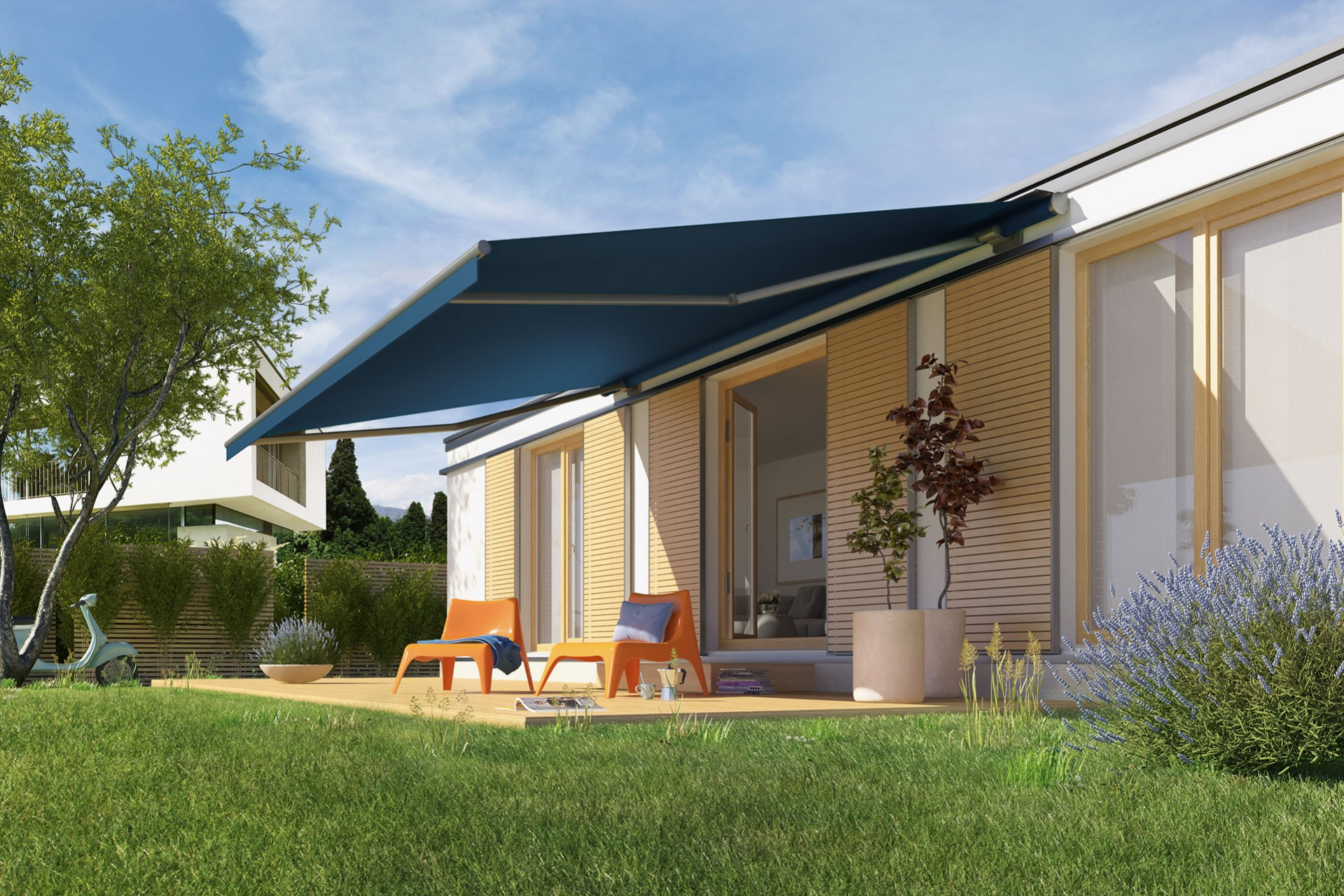 Ozshade Folding Arm Awnings 2
