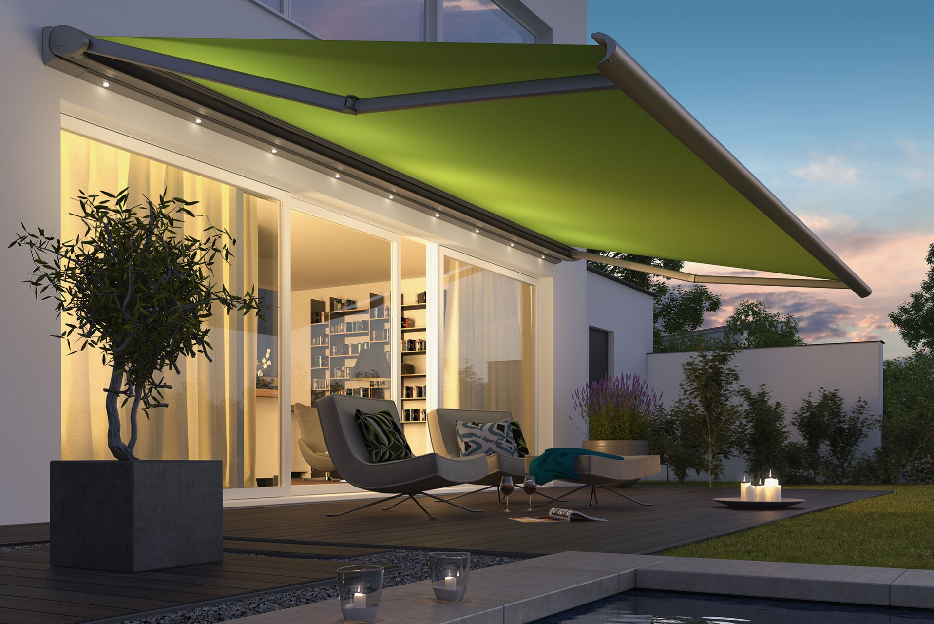 Ozshade Folding Arm Awnings 7