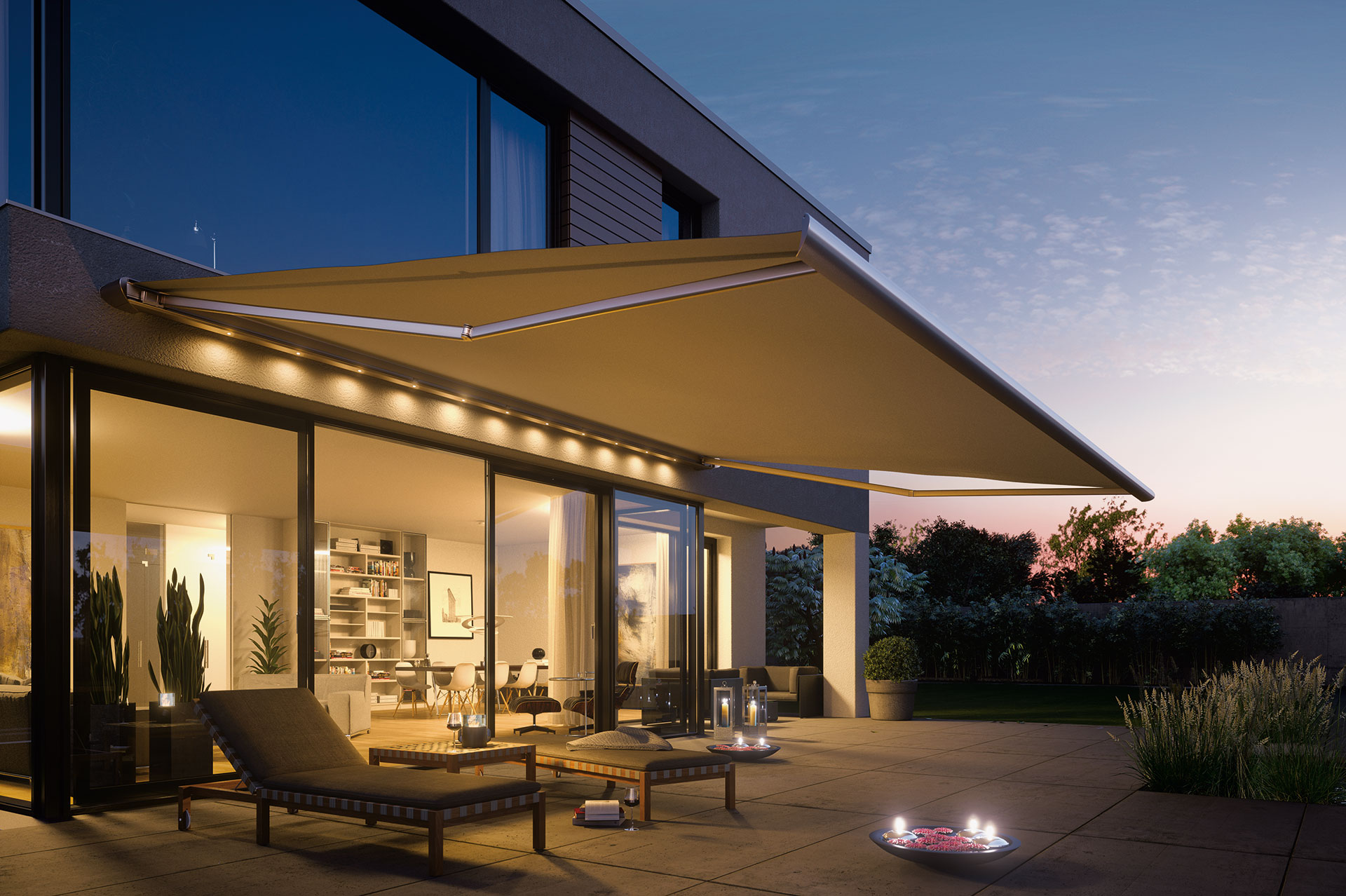Ozshade Folding Arm Awnings 15